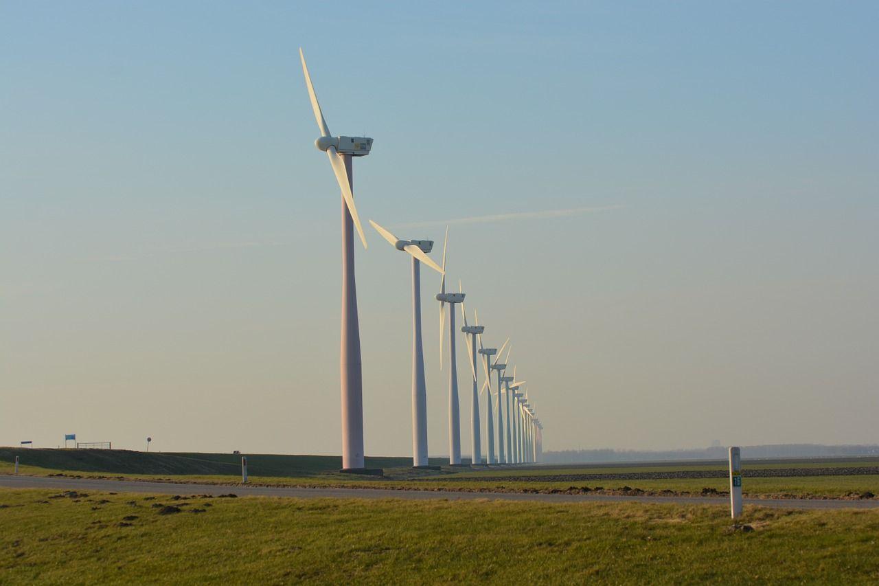 Nederlanders protesteren in Duitsland tegen windmolens