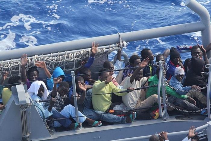 Grenzüberschreitende Diskussion zur Flüchtlingssituation
