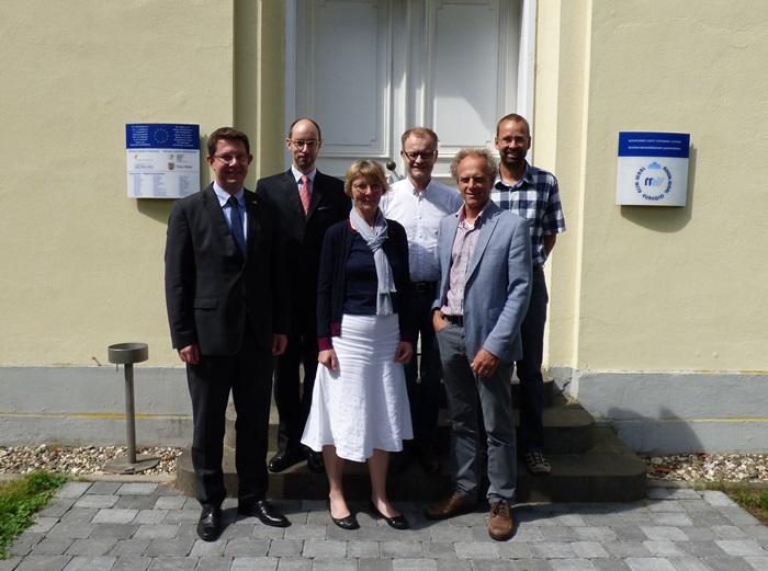 Präsidentin der HRW stattet Euregio Rhein-Waal Antrittsbesuch ab