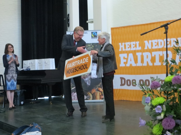 Fontys International Campus Venlo wird Fairtrade Universität