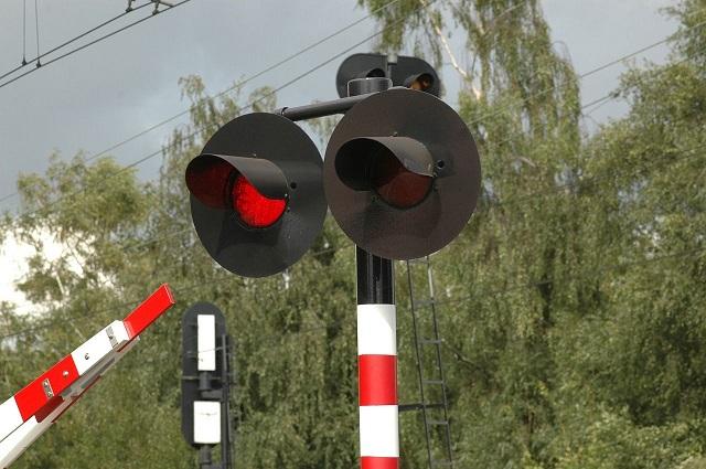 Het verkeerslicht staat op rood aan de grens (blog)