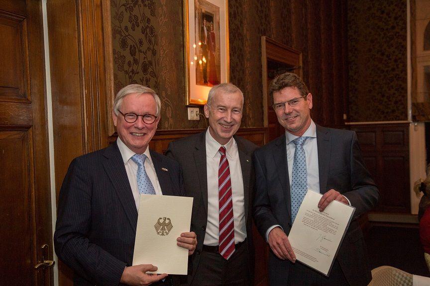 Ben Kuipers benoemd tot Duitse honorair-consul voor Overijssel en Gelderland