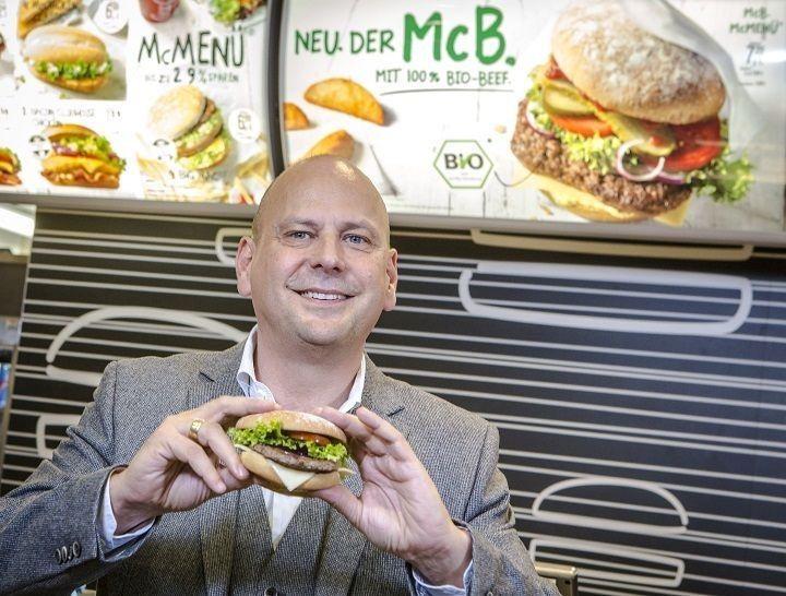 Bio- en veggieburger bij McDonald's in Duitsland