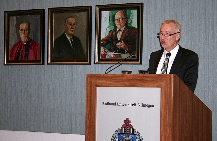 Besuch des Botschafters Franz Josef Kremp an der Radboud Universität