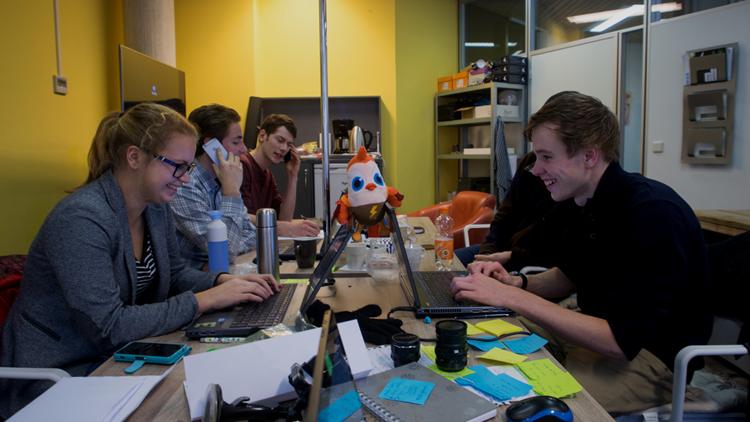 Deutsche Studenten entwickeln eCarsharing-Konzept in den Niederlanden