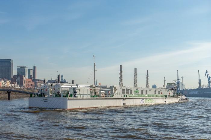 Vorbild Hamburg: Schwimmendes Gaskraftwerk für den Rotterdamer Hafen