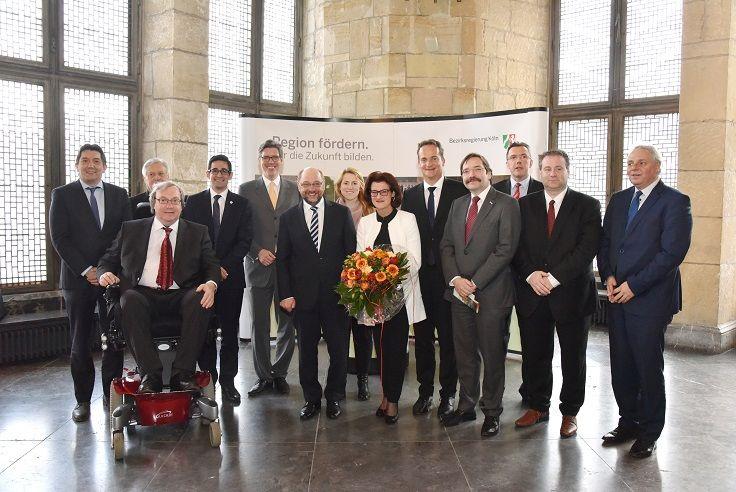 Voorzitterswissel Euregio Maas-Rijn