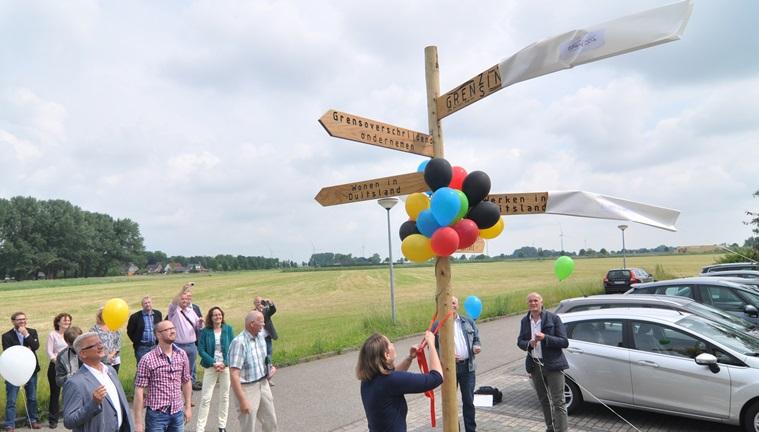 GrenzInfoPunkt Ems Dollart Region in Bad Nieuweschans eröffnet