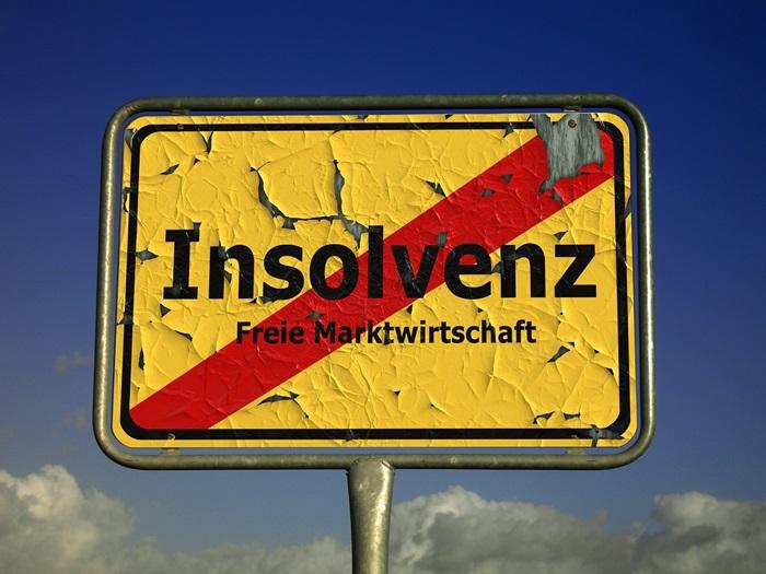 Weniger Insolvenzen in Deutschland und den Niederlanden