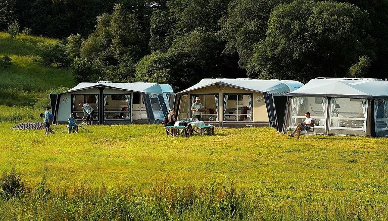 Meeste buitenlandse gasten op Duitse campings komen uit Nederland