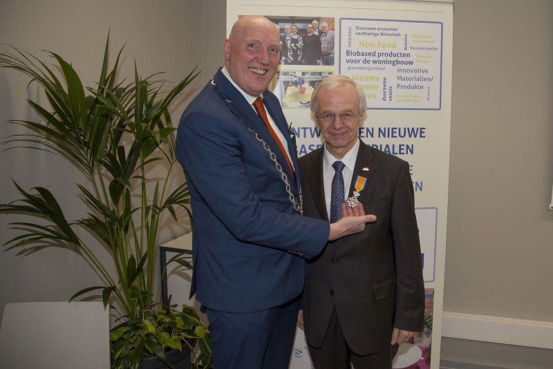 Koninklijke onderscheiding voor Bernhard Bramlage