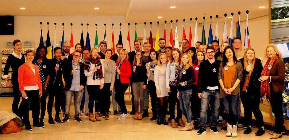 Europa in de regio en regio's in Europa – Fontys studenten op excursie in Brussel