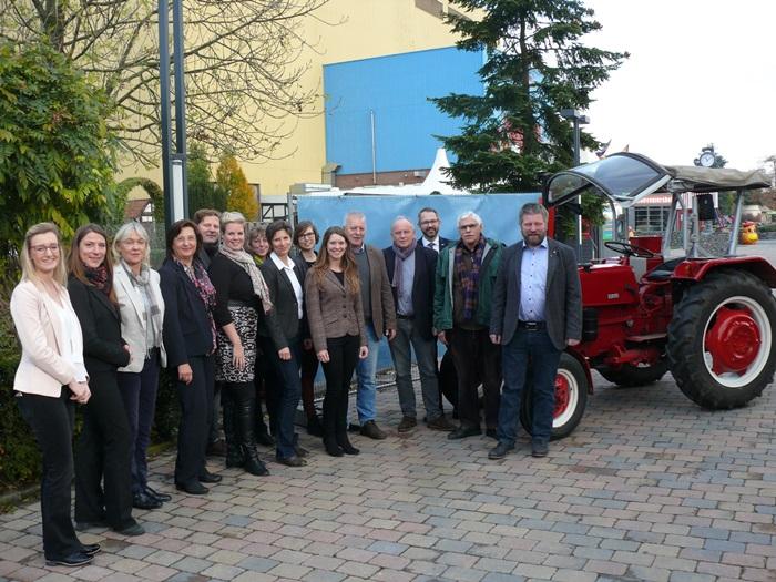 GreenLive 2016: Deutsche und niederländische Agrarunternehmen in Kalkar zu Gast