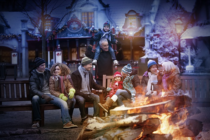 Märchenhafte Winterwelt im Freizeitpark Efteling