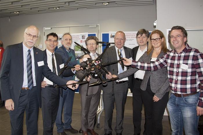 Deutsch-niederländisches Forschungsprojekt zur Fernerkundung mit Drohnen