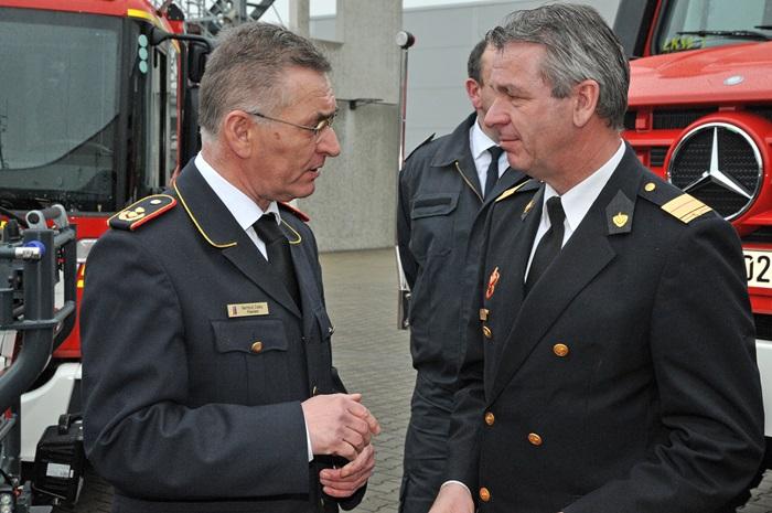 Wenn Feuerwehr und Brandweer kooperieren