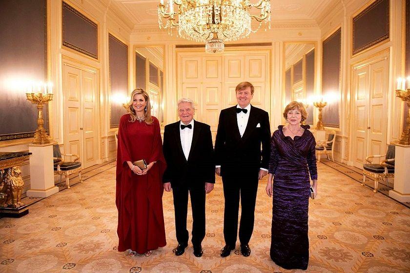 Koningspaar op bezoek in Duitsland
