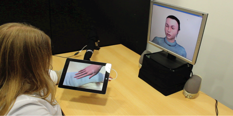 """Niederländer entwickeln """"Social Touch Technology"""""""