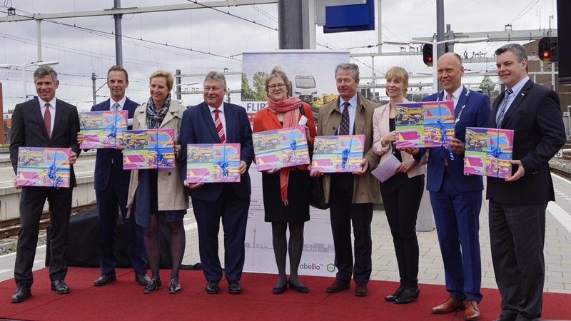 Abellio startet neue Zugverbindung in die Niederlande