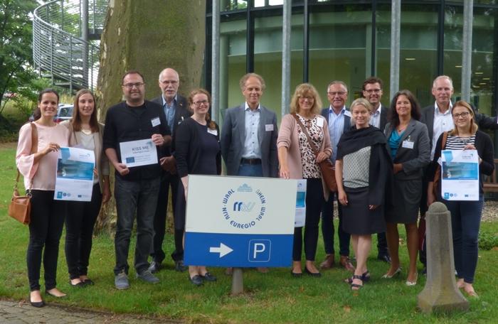 Drie innovatieve Interreg-projecten voor het eerst bijeen in Düsseldorf