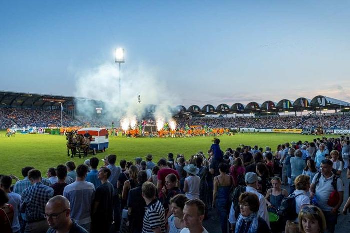 """""""Welkom Nederland"""": CHIO Aachen 2017 eröffnet"""