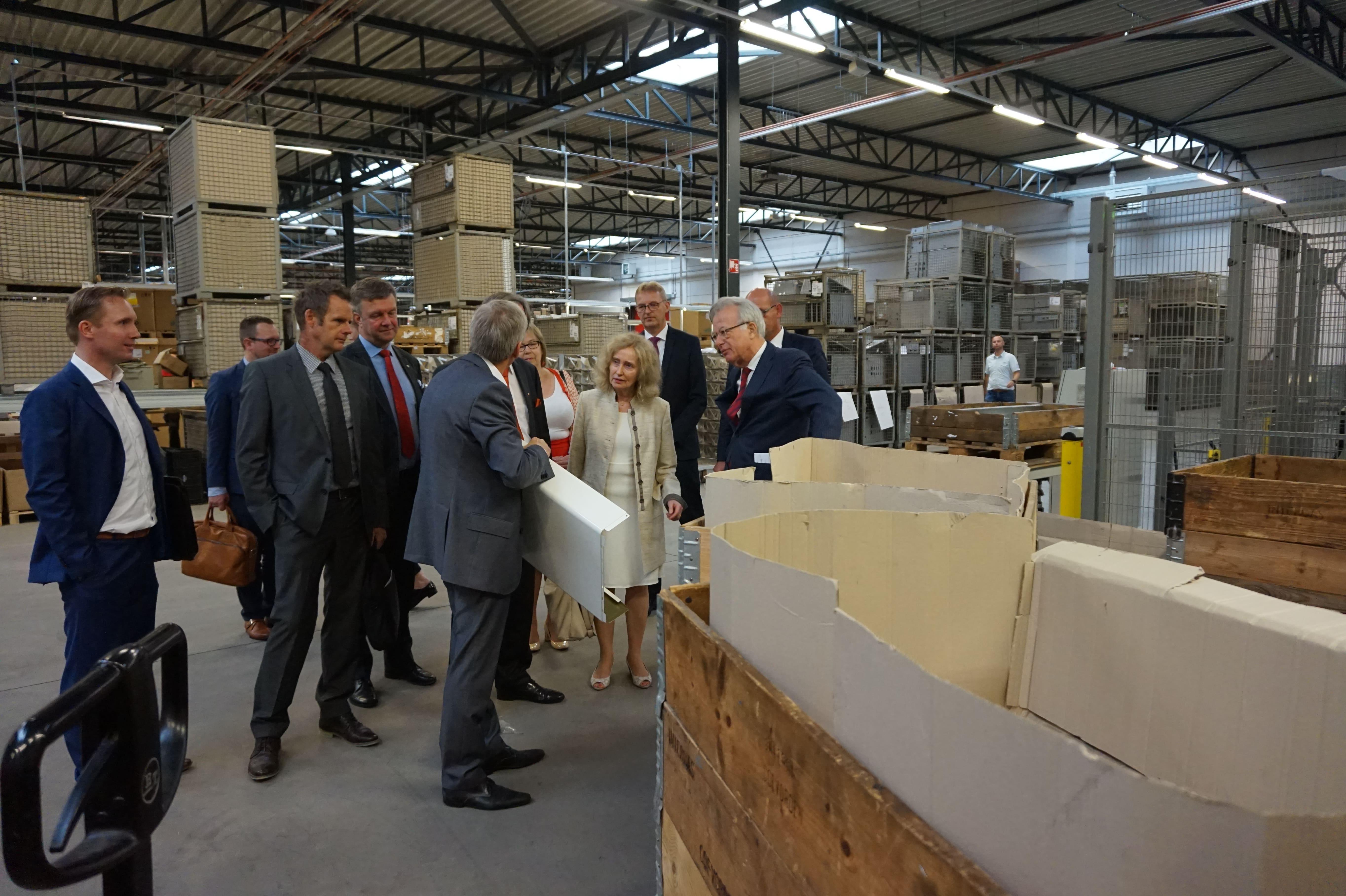 Duitse ambassadeur bezoekt Europark