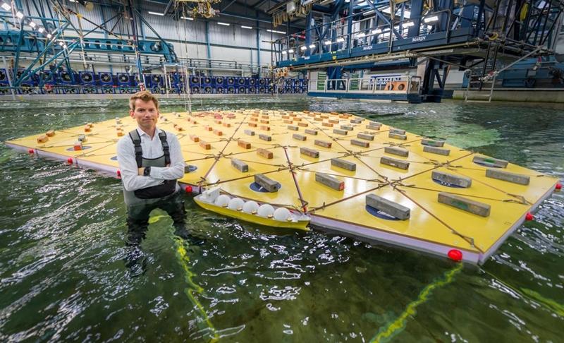 Niederländer bauen künstliche Insel