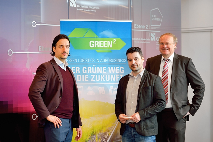Transferprojekt hilft Logistik-Unternehmen beim Thema Nachhaltigkeit