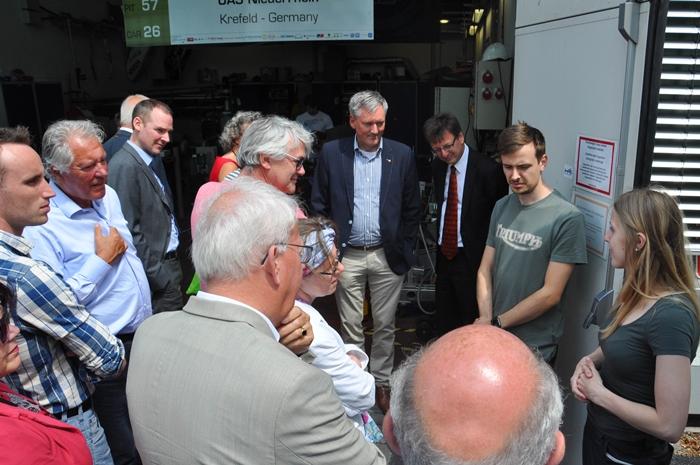 Rat der Stadt Venlo besuchte Hochschule Niederrhein
