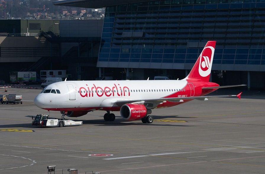 Luchtvaartmaatschappij Air Berlin vraagt faillissement aan