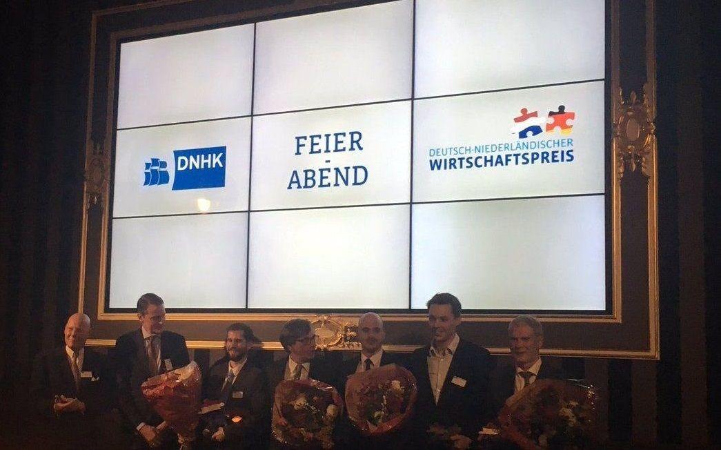 SendCloud wint de Duits-Nederlandse Prijs voor de Economie