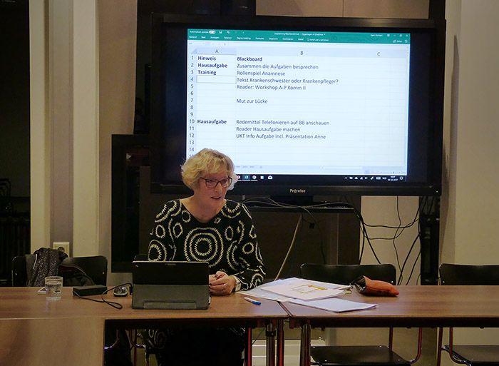 Medewerkers Sint Maartenskliniek vol enthousiasme aan de slag met Duitse taal