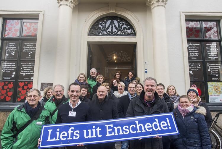 Citymarketingvertreter aus dem EUREGIO-Gebiet testen Enschede