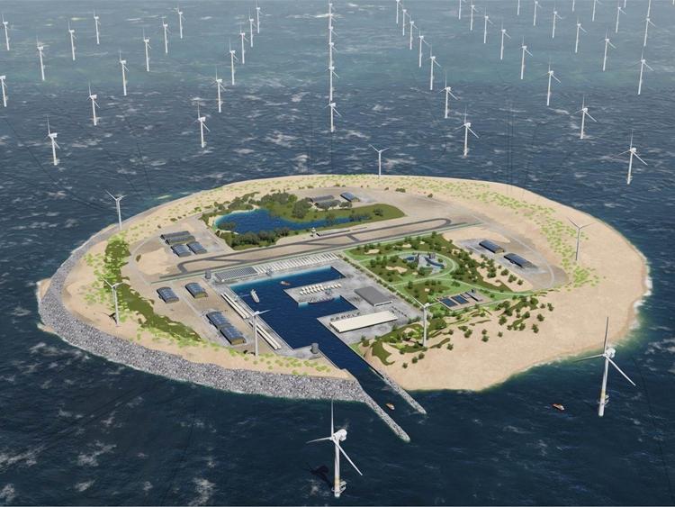 Hafen Rotterdam unterstützt Landgewinnung in der Nordsee