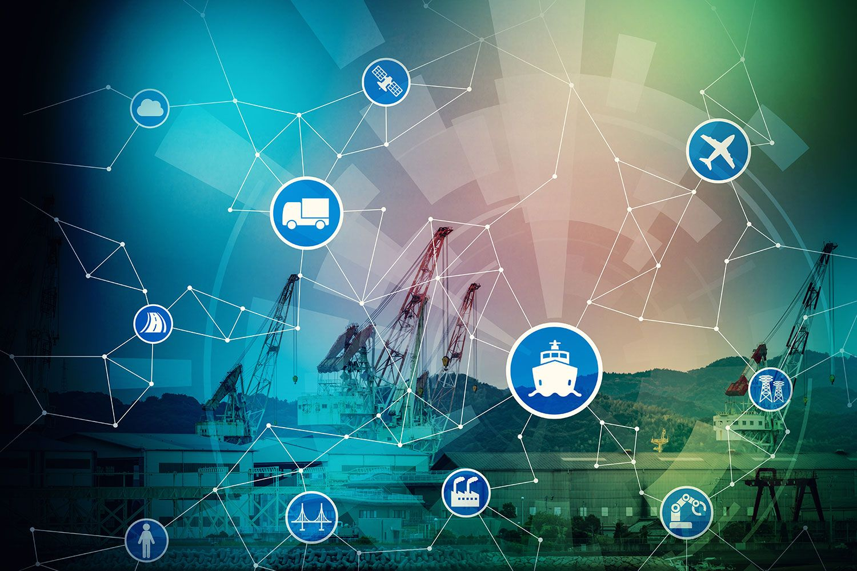 """Internet of Things"" im Hafen Rotterdam"