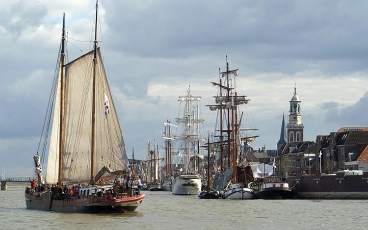 SAIL Kampen: Maritimes Osterevent in alter Hansestadt