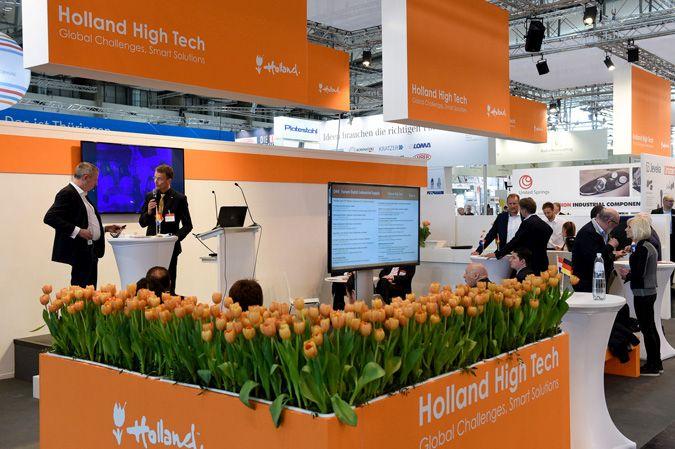 33 Nederlandse bedrijven op industriebeurs Hannover Messe