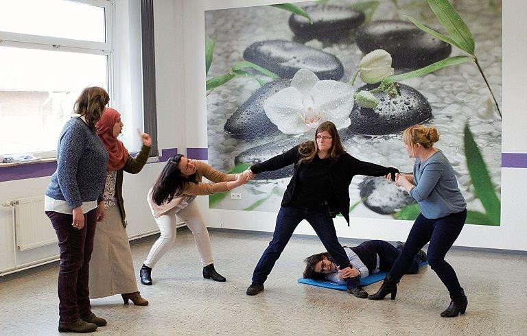 Nederlandse en Duitse vrouwen succesvol begeleid naar een baan in de grensregio