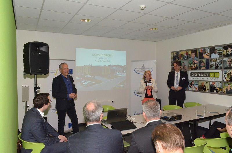 """Ondernemersontbijt bij de Dorset Group: """"Digitalisering speelt belangrijke rol in grensregio"""""""