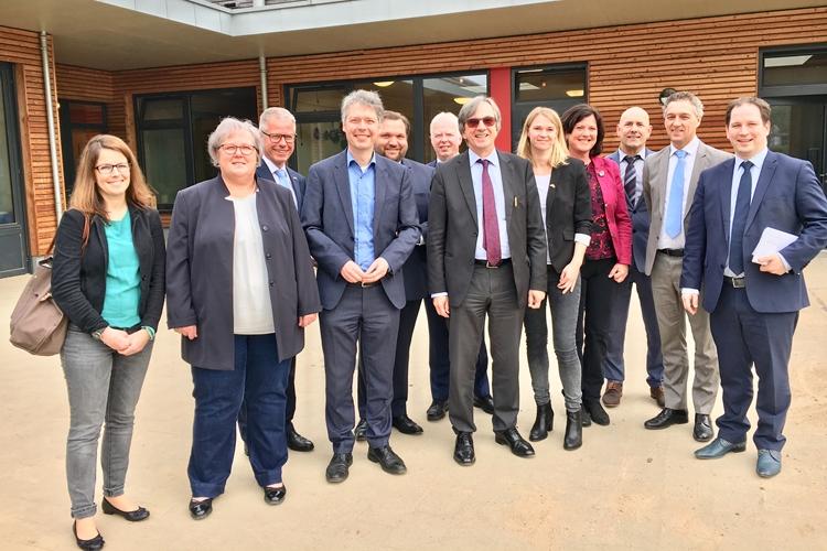 Botschafter besucht die euregio rhein-maas-nord