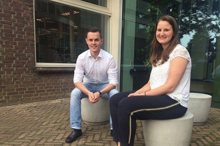 Maren en Lennart maakten kennis met arbeidsmarkt in het buurland