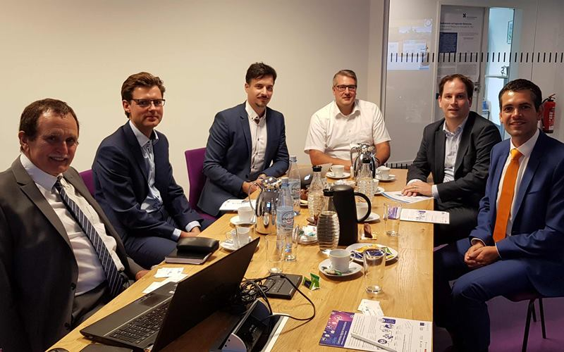 Niederländischer Provinzminister zu Gast im GEMIT-Institut