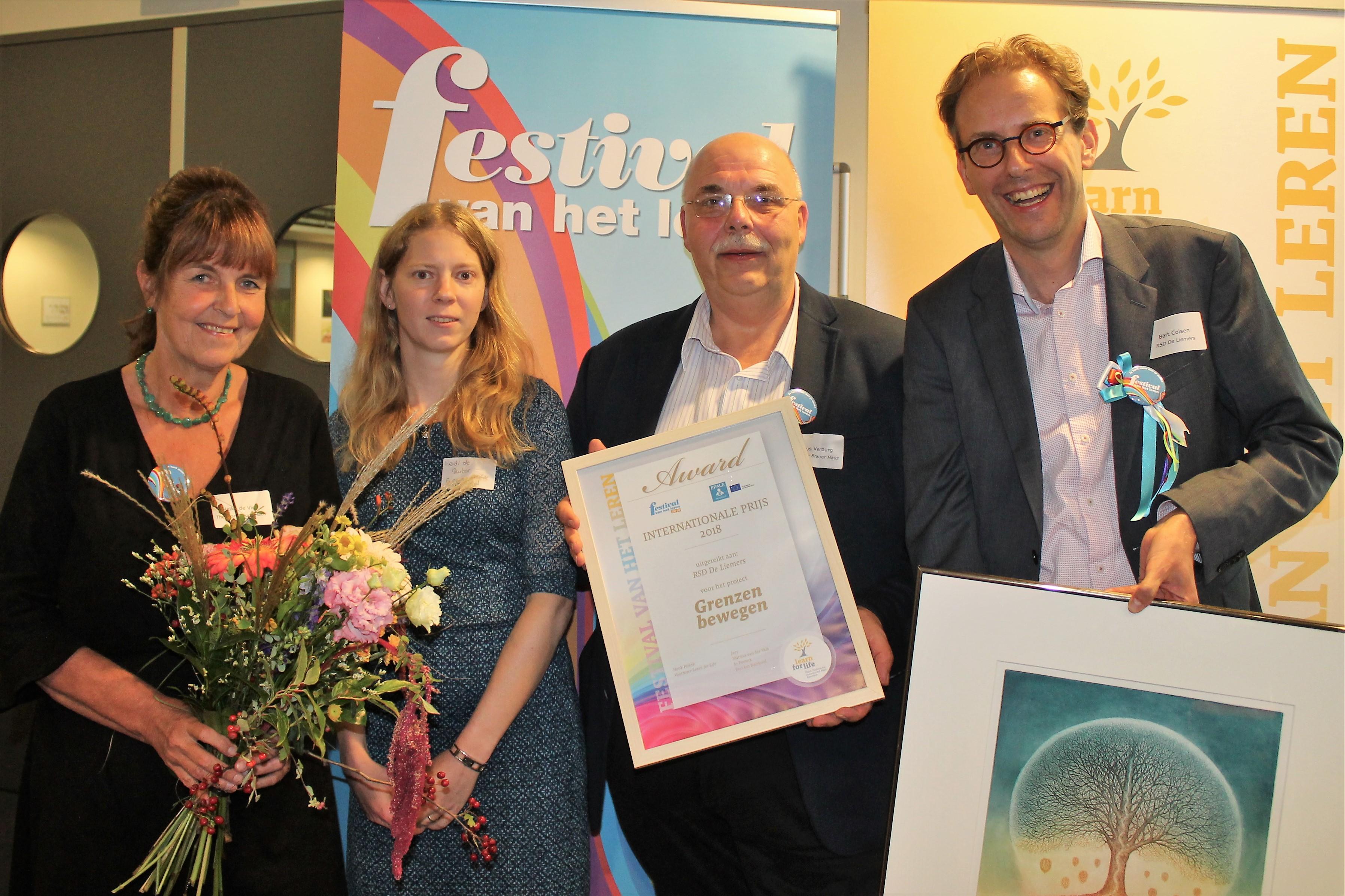Euregio-project Grenzen Bewegen wint Internationale Prijs 2018