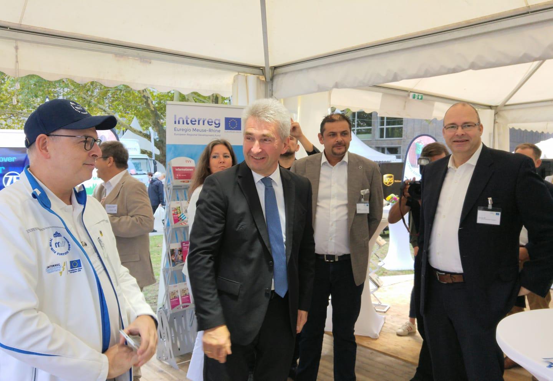 Succesvolle NRW-dag met INTERREG Deutschland-Nederland en NRW-minister Pinkwart