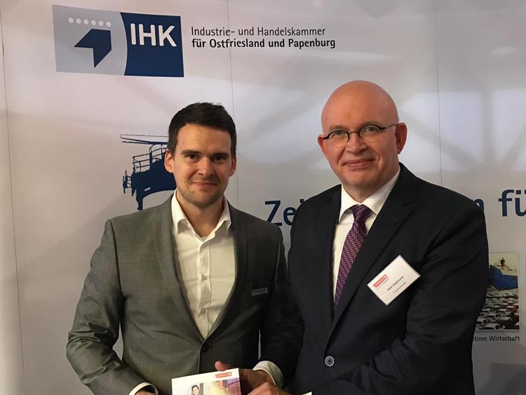 Ostfriesische Unternehmen mit eigenem Marktplatz auf Groninger Wirtschaftsmesse