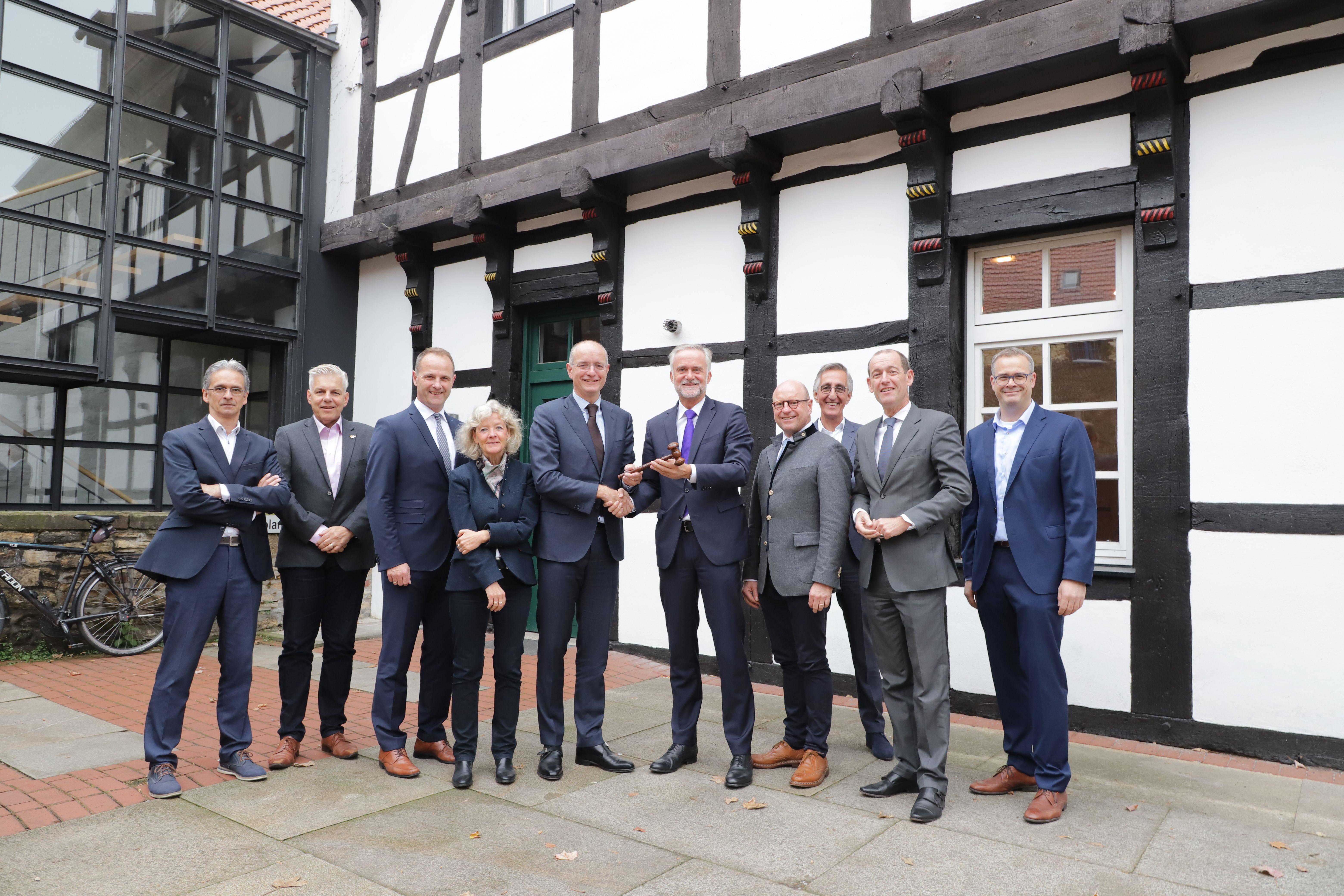 Osnabrück neemt voorzitterschap stedendriehoek MONT van Enschede over