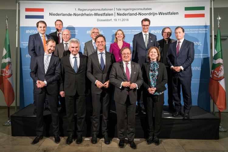 Erste niederländisch-nordrhein-westfälische Regierungskonsultationen