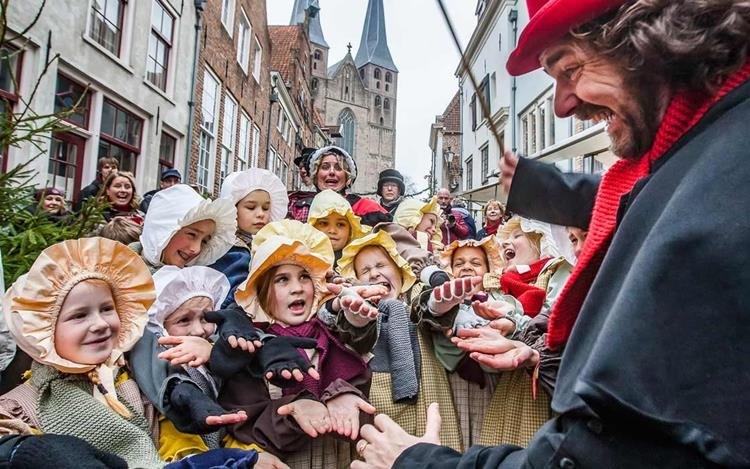 Vorweihnachtszeit in den niederländischen Hansestädten