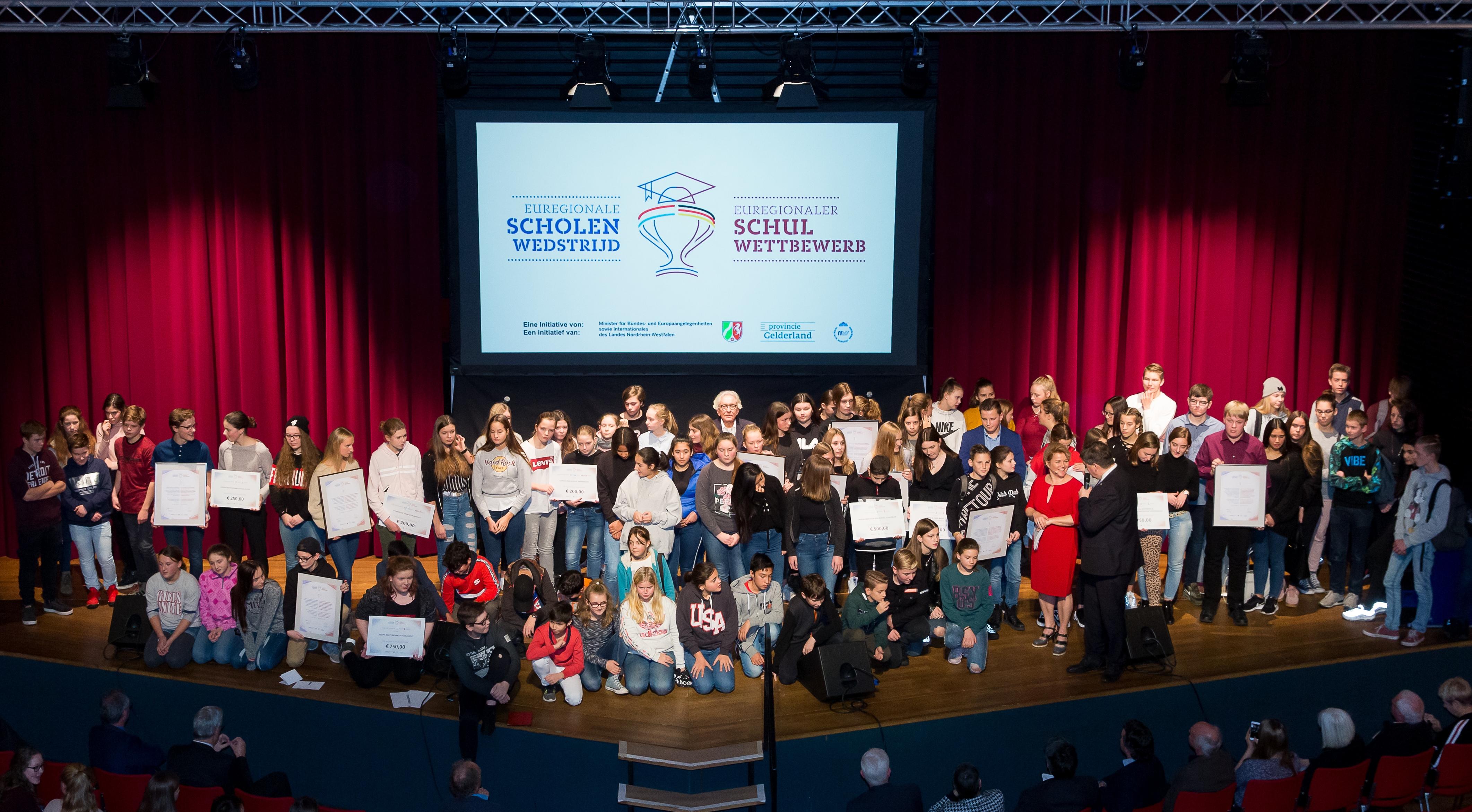 Winnaars van euregionale Scholenwedstrijd bekendgemaakt