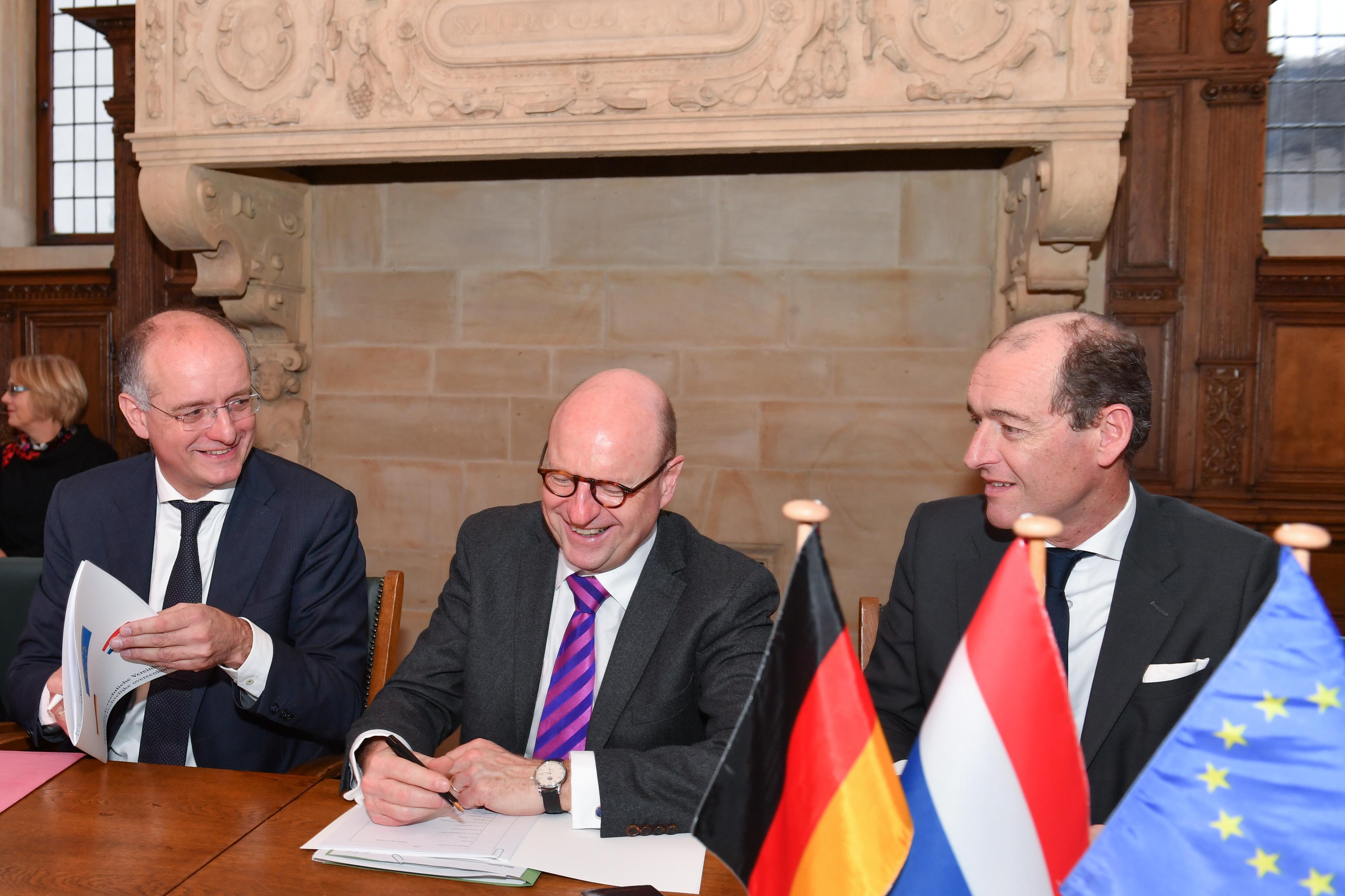 Twentse gemeenten en Münster op weg naar grensoverschrijdende afvalverwerking